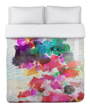 Inside Her Eyes Duvet Cover
