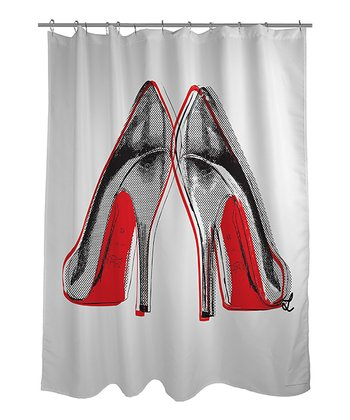 Fire in Your New Shoes Shower Curtain