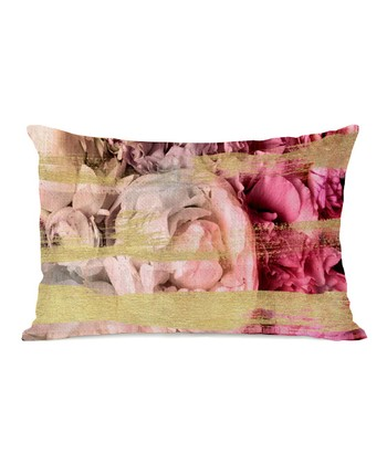 Field of Roses Rectangular Throw Pillow