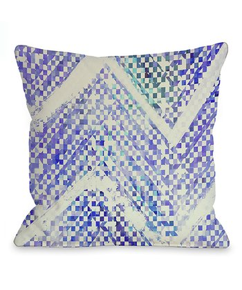 Blue Isolee Throw Pillow