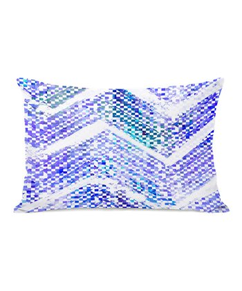 Blue Isolee Rectangular Throw Pillow
