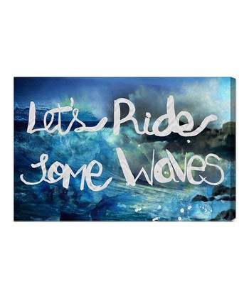 'Ride Some Waves' Wall Art