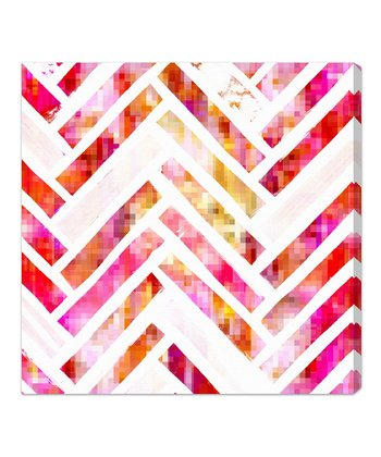 Sugar Flake Herringbone Wall Art