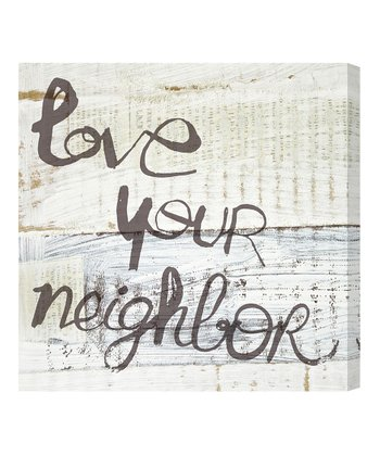 'Love Your Neighbor' Wall Art