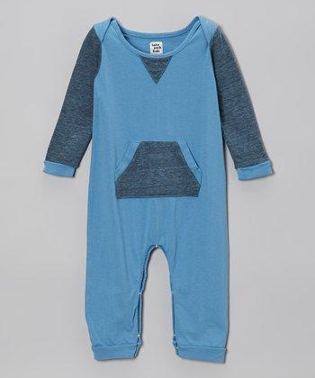 Sky Blue Romper - Infant