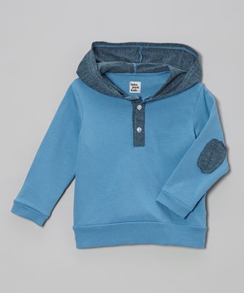 Lake Park Kids Sky Blue Pullover Hoodie - Infant