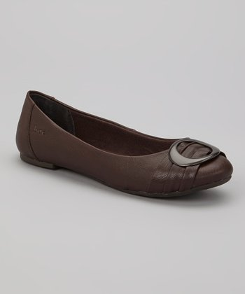 Dark Brown Odelina Flat