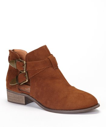 Cognac Jennifer Ankle Boot