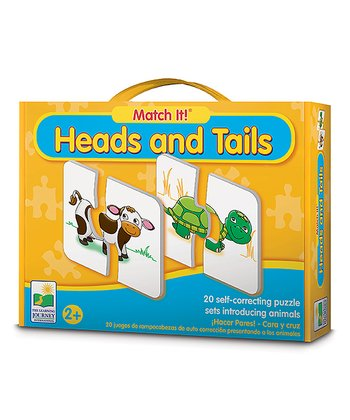 Match It! Heads and Tails Puzzle Game