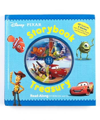 Disney Pixar Storybook Treasury Read-Along Hardcover & CD Set