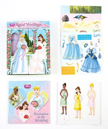 Disney Princess Royal Wedding Paperback & Play Set