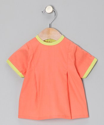 Coral Brites Babydoll Top - Infant & Toddler