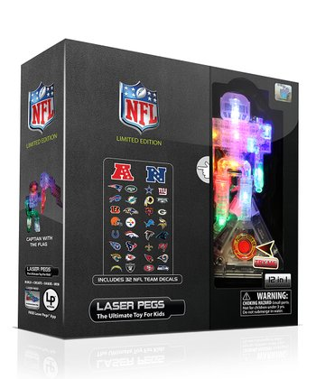 Limited Edition NFL 12-in-1 Laser Peg Set