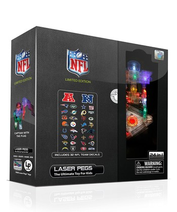 Limited Edition NFL 24-in-1 Laser Peg Set