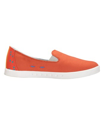 Orange Baja Slip-On Sneaker