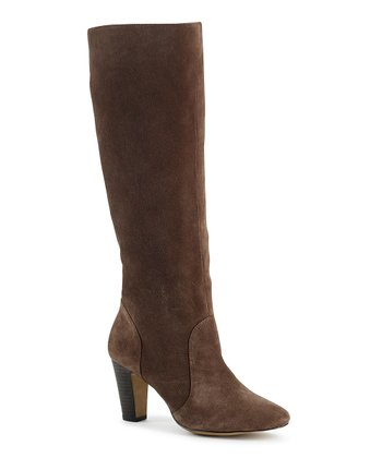 Brown Suede Bari Boot