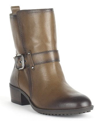 Coffee Fedra Bootie