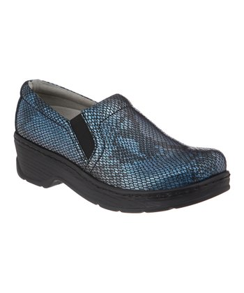 Electric Blue Naples Clog