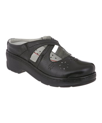 Black Carolina Clog