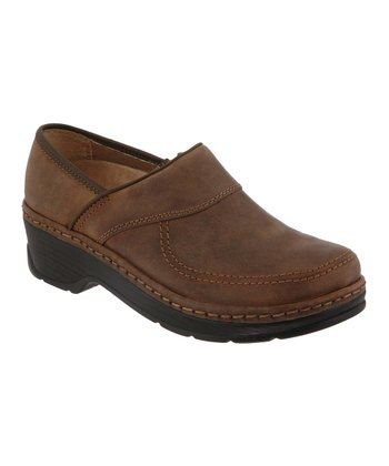 Dark Brown Sonora Clog