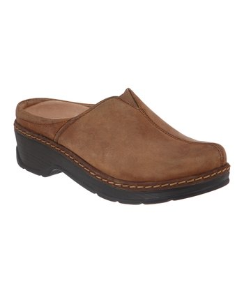 Dark Brown Como Clog