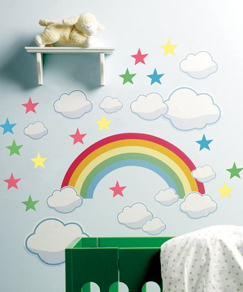 Rainbow Room Wall Decal Set