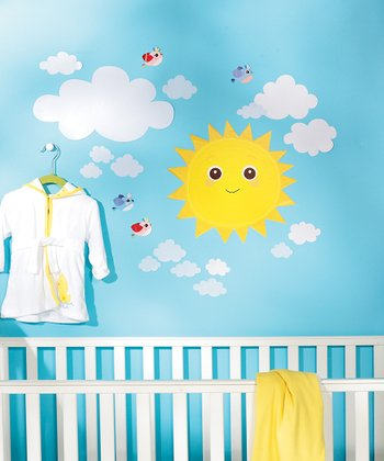 Baby Sunshine Wall Decal Set