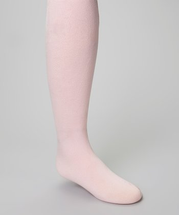Pink Fleece-Lined Tights - Infant, Toddler & Girls
