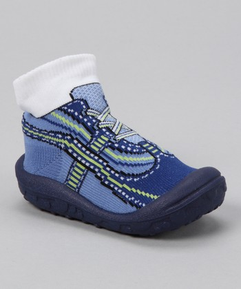 Blue Jean Baby Funny Gripper Shoe