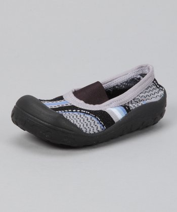 Black Funny Gripper Shoe