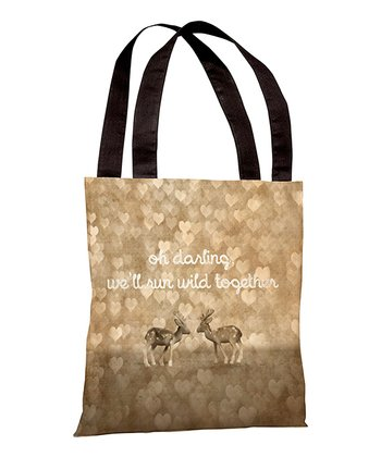 'Run Wild Together' Tote