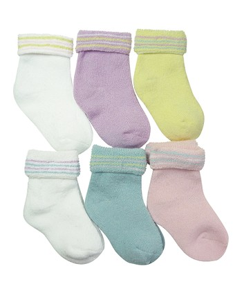 Pastel Stripe Sock Set
