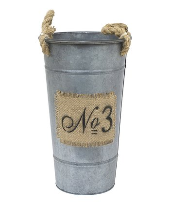 'No. 3' Metal Bucket