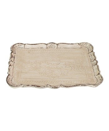 Antiqued Ornate Tray