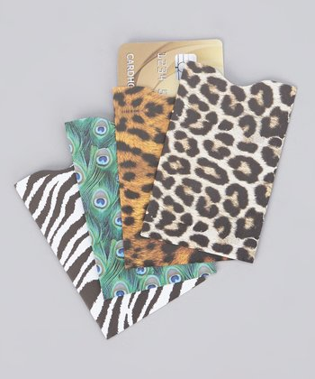 Safari Assortment Armored RFID Credit Card Sleeve Set
