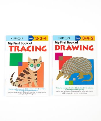 My First Book of Drawing & Tracing Workbook Set
