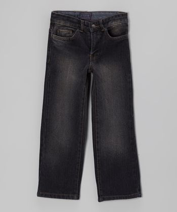 Blue Straight-Leg Jeans - Toddler