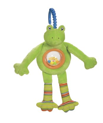 Pond Pets Frog Ball Rattle