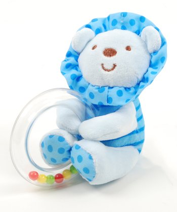 Blue Lion Rattle