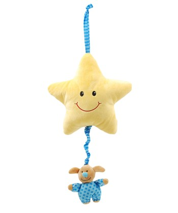 Blue Star Musical Pull Toy
