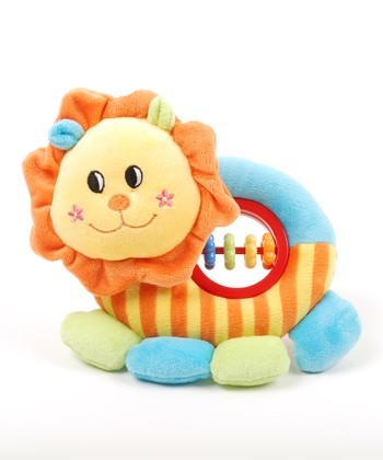 Lion Baby Activity Rattle