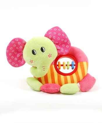 Elephant Baby Activity Rattle