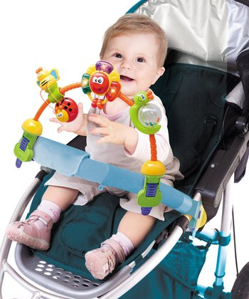 Rainbow Stroller Activity Toy