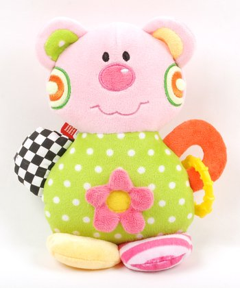 Pink Cutzee Teething Rattle