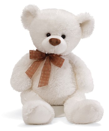 Frosting White Bear Plush Toy