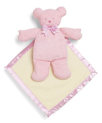 Pink Pancake™ Bear Plush Toy/Blanket