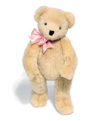 Pink Ribbon Classic Bear 18'' Plush Toy