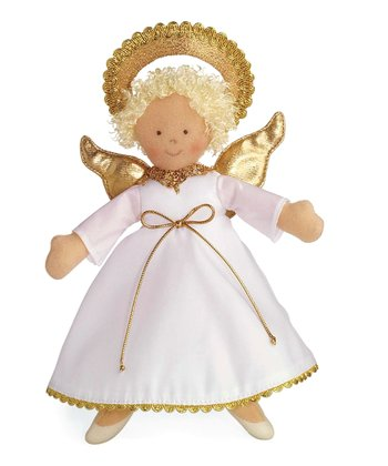 Blonde Angel Doll