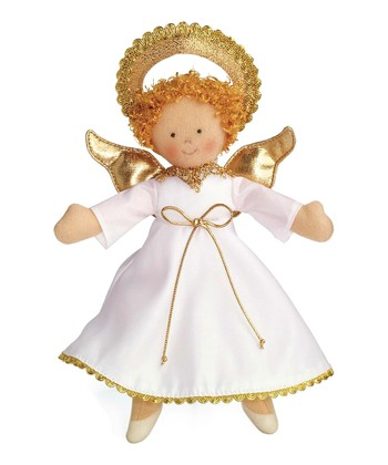 Brown-Haired Angel Doll