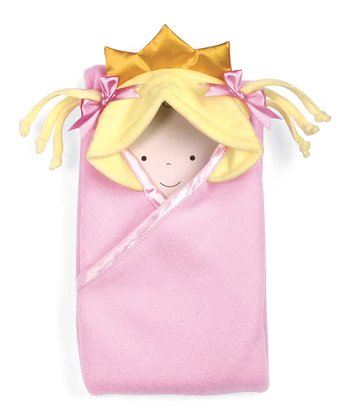 Blonde Little Princess™ Hooded Blanket
